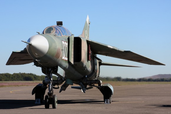 MiG-23 Cold War Air Museum