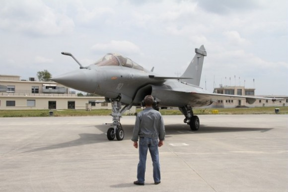 Rafale M10 - primeiro Rafale M padrão F1 retrofitado para F3 - foto Dassault