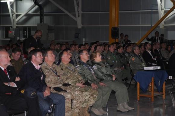 Salitre 2014 - subsecretário defesa destaca cooperação  - foto ten Humberto - Ag Força Aérea - FAB