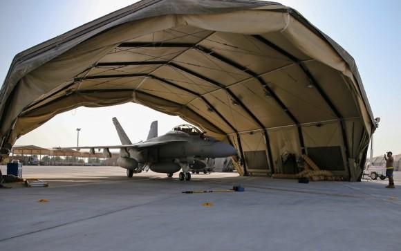 Super Hornet australiano volta de primeira missão no Oriente Médio - foto 2 MD Australia