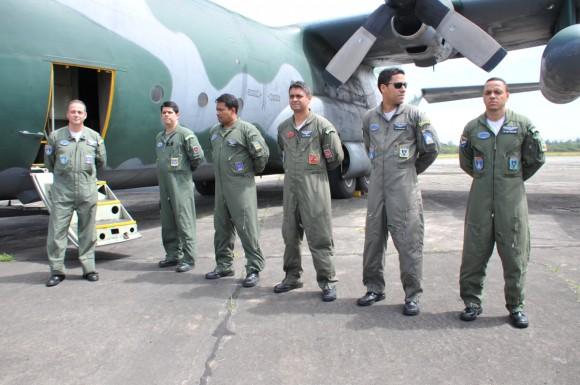 TRIPULAÇÃO DO C-130