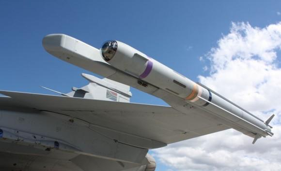 A-Darter em Gripen - foto Denel Dynamics