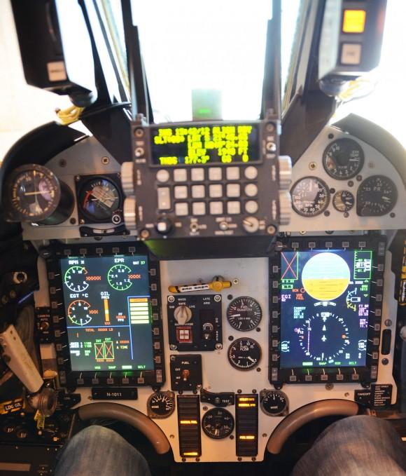 AF-1M Cockpit