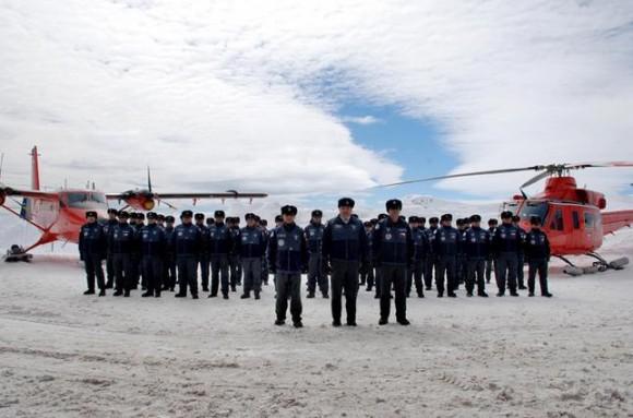 Base Aérea Antártica Pres Eduardo Frei Montalva - troca de comando 26-11-14 - foto 5 FACh