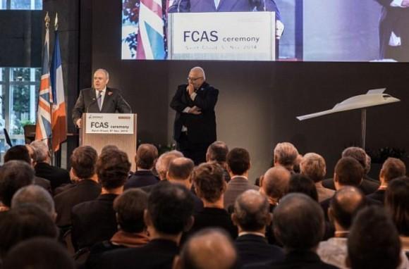 FCAS - cerimonia programa Dassault BAE Systems - imagem via Dassault
