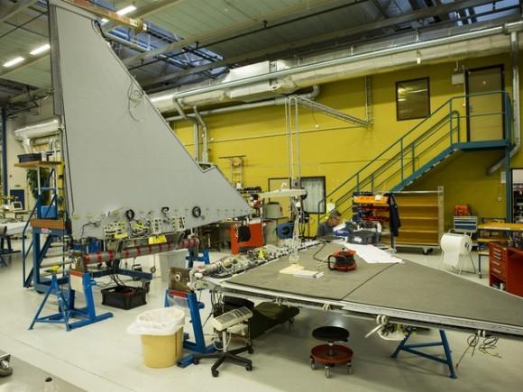 Gripen NG - linha de montagem em Linkoping - foto Saab via G1