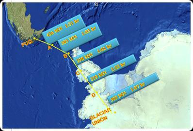 Mapa bases Antártida - imagem 2 via FACh