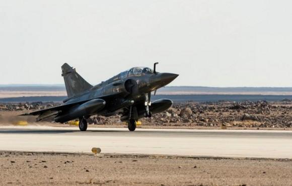 Operação Chammal - Primeiros três Mirage 2000D na Jordânia - foto 2 Min Def França