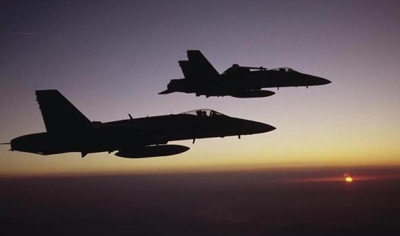 caças Hornet - foto Força Aérea Suíça