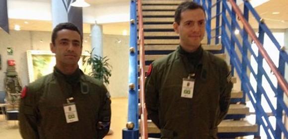 futuros primeiros pilotos de Gripen