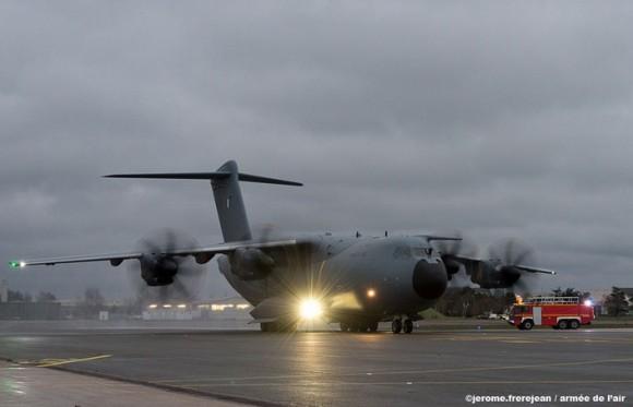A400M - sexta entrega para a França - foto Força Aérea Francesa