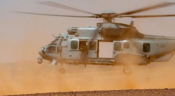 EC725 - imagem ilustrativa em nota sobre acidente em 29nov2014 - foto via Min Def França