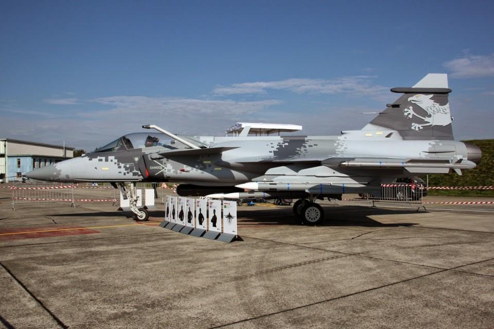 Gripen JAS 39E - mock-up
