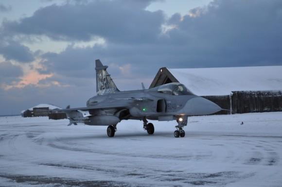 Gripen Tcheco deixa a Islândia - foto 2 Min Def Rep Tcheca