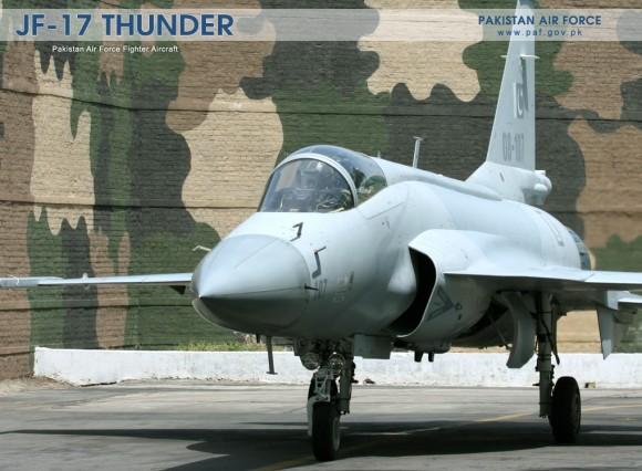 JF-17 - foto Força Aérea Paquistanesa