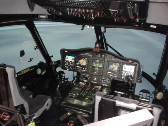 Simulador S-92-interior_red_divulgação Líder Aviação