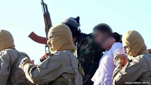captura piloto jordaniano - foto via BBC