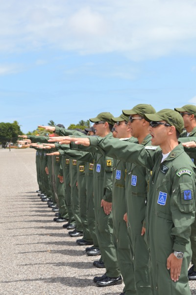 formatura pilotos combate 2014 em Natal - juramento - foto FAB