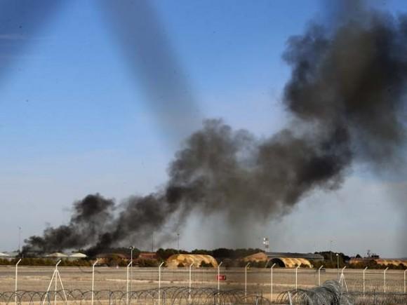 Acidente no TLP em Albacete 26jan2014 - foto AP via G1