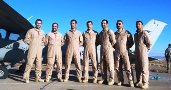 Afghan-pilots-training