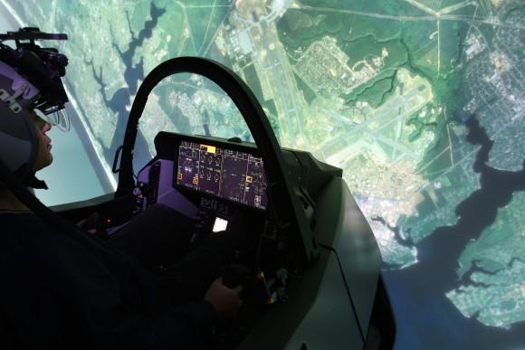F-35-Full-Mission-Simulator-Lockheed-Martin