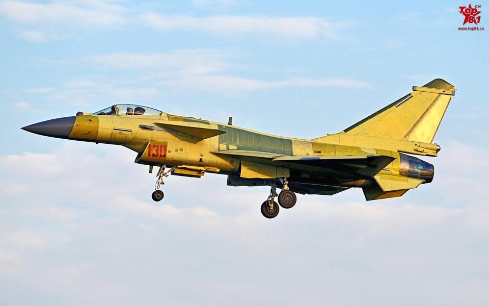 J-10B serial 130 - 21.12.14