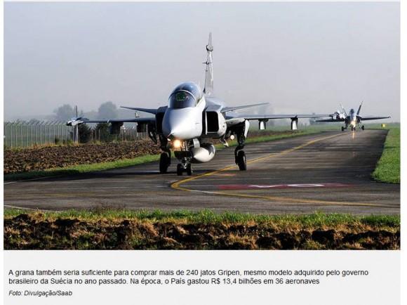Petrobras versus caças