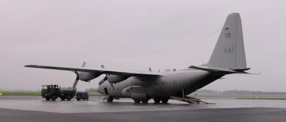 C-130 H - TP 84 - foto Forças Armadas da Suécia