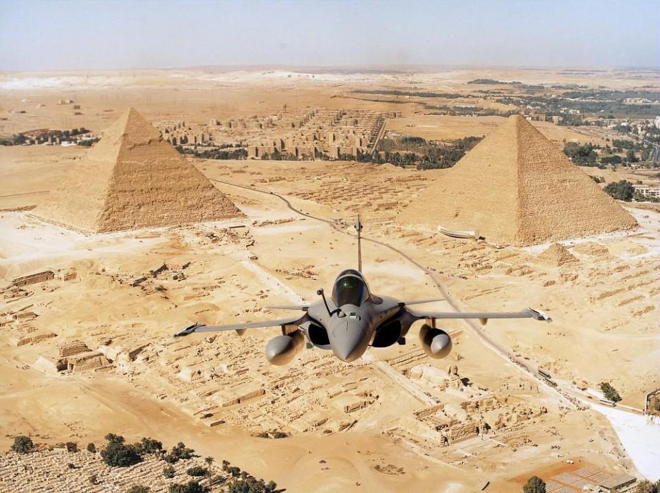 Rafale no Egito