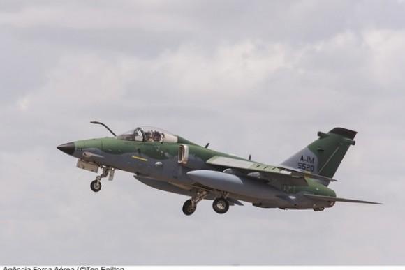 A-1M Esquadrão Adelphi - foto FAB ten Kirchhof