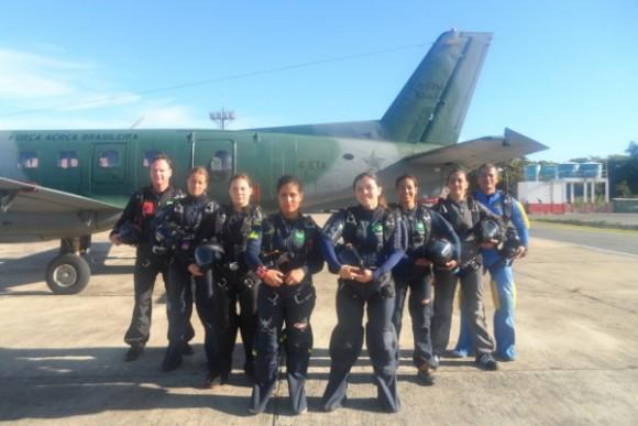 Equipe feminina Falcões - foto FAB