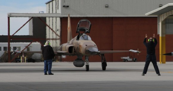 F-5 Tiger II do VFC 13 na NAS Fallon - foto 4 USN