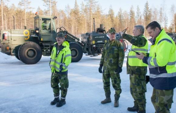 Gripen - Ala 17 treina tiro ar-solo em Vidsel - foto 13 Forças Armadas da Suécia