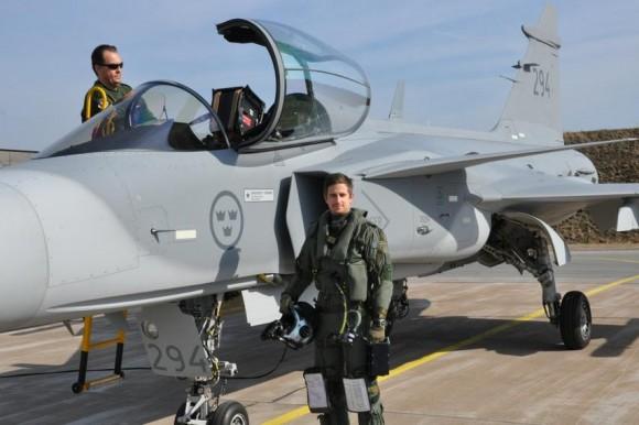Gripen C 294 - ultima entrega - foto 3 Forcas Armadas da Suecia