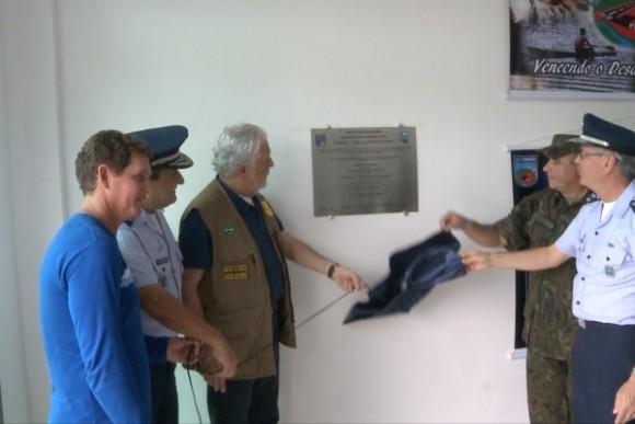 Ministro J Wagner inaugura destacamento Eirunepe - foto FAB