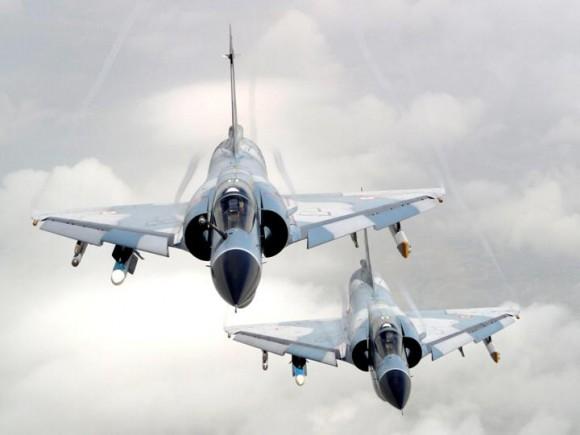 Mirage 2000 - foto Força Aérea Indiana