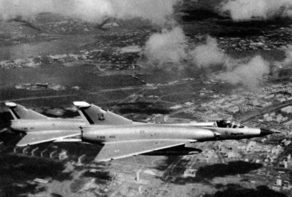 Mirage IIIEBR em meados dos anos 1970