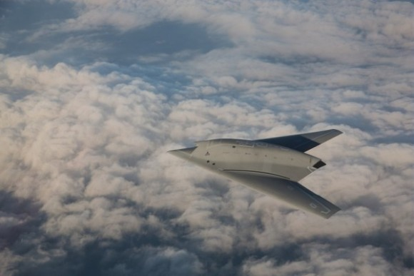 Neuron - foto de nota sobre centésimo voo - foto Dassault