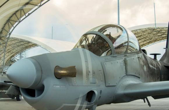 Super Tucano Piloto afegão voa pela primeira vez no A-29 - 1