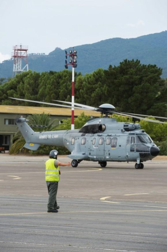 Super Puma da Força Aérea Francesa - foto 2 Min Def França