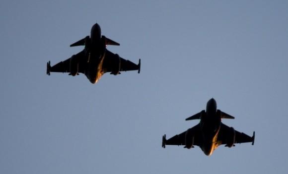 caças Gripen suecos - foto Forças Armadas da Suécia