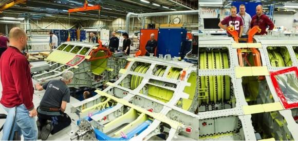 fotos produção Gripen E na Suécia - via Saab