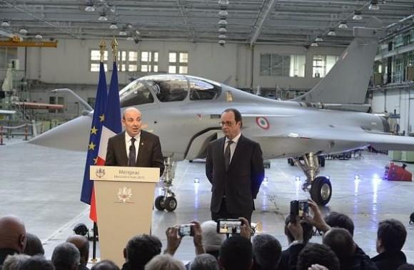 visita pres Francois Hollande Dassault - mar2015 - foto 3 Dassault Aviation