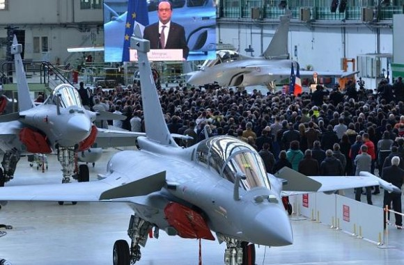 visita pres Francois Hollande Dassault - mar2015 - foto 4 Dassault Aviation