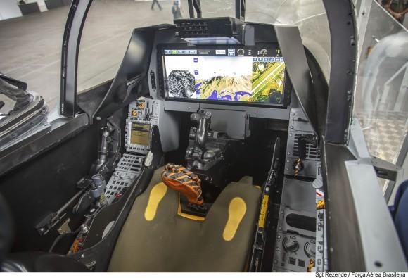 Gripen NG Mockup cockpit