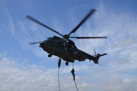 H-36 Caracal treinamento EB e MB - foto FAB