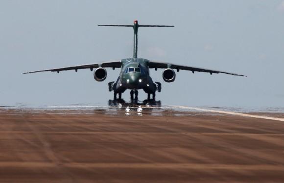 KC-390 - foto divulgação Embraer