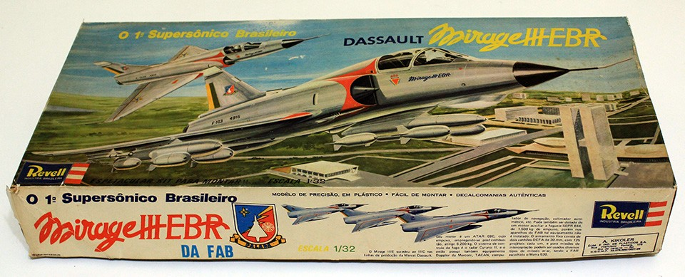 Kit da Revell do Mirage IIEBR da FAB - 2