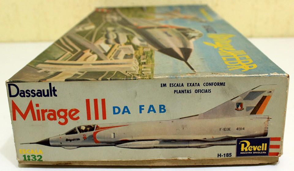 Kit da Revell do Mirage IIEBR da FAB - 3