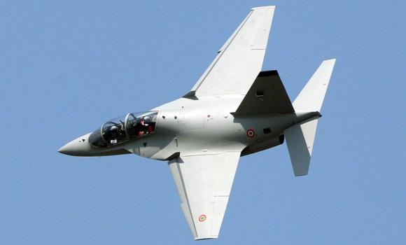M-346 em voo - foto 3 Alenia Aermacchi